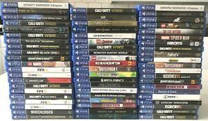 Ps4 - Ps4 Games Choose 1 Or Bundle Up - Same Day Dispatched - Boxed - VGC