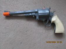 TOY SPACE PISTOL 6 SHOOTER WIILD WEST GUNSLINGER  VGC SCIFI COSPLAY LARP WAR GUN