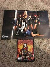 Command And Conquer Red Alert 3 Windows XP Vista PC 2008 And Poster