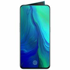 "New Oppo Reno Unlocked Dual SIM 4G LTE-8GB RAM-6.4"" Full HD+ Display- Green"