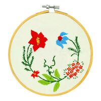36/40cm Bamboo Frame Embroidery Hoop Ring DIY Cross Stitch Machine Loop SewingEB