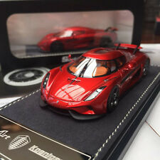 New 1/43 Frontiart Koenigsegg Regera Resin car model Metallic Red with show case