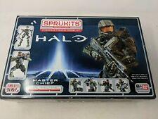 BANDAI Sprukits Halo Master Chief Level 3 161 PCS Model Kit | BRAND NEW | SEALED