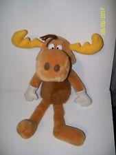 """1994 Dakin Bullwinkle Moose Plush 16"""""""