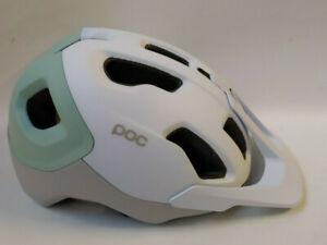 POC Axion Spin Hydrogen White/Apoph MTB Helm Bike Helm Gr. M/L Race Rennrad Helm