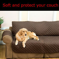 3 Seater Quilted Sofa Slip Cover Couch Pet Furniture Protector Throws Sofa  ❤