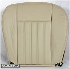 2003-2004 Lincoln Aviator AWD 4.6L V8 -Driver Side Bottom LEATHER Seat Cover Tan