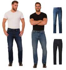 Ex M&S Blue Harbour Men's Jeans Straight Leg Stretch Trousers Pants Straight Fit