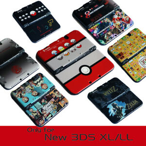 Snap on Case Cover Shell for Nintendo New 3DS XL 20+ Designs