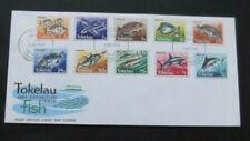 Tokelau-1984-Fish Definitives FDC