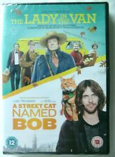 67756 DVD - A Street Cat Named Bob / The Lady In The Van [NEW / SEALED]  2016  C