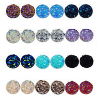 100pcs Mixed Cabochons Resin DIY Flatback Jewelry Crafts Handmaking Accessories