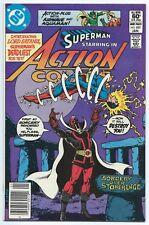ACTION COMICS #527 (Jan 1982 DC) NM- 9.2 SUPERMAN 1st App LORD SATANIS NEWSSTAND