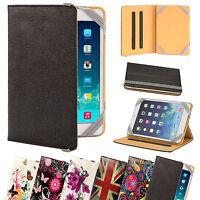 NUOVO Cuoio universale per Tablet/E-Reader CUSTODIA COVER tutti 7 - 8 pollici