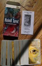Haindl Tarot Deck by Hermann Haindl - 78 Card & Instructions. 2011 Esoteric
