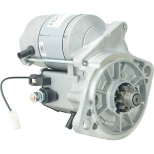 New Total Power Parts Starter 410-52665 for Agco ST34A 4WD 2005-2008 228000-2286