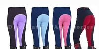 NEW TWO TONE HORSE RIDING CHILDREN JODS JODPHURS JODHPURS IN ALL COLOURS & SIZES
