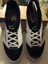 Mizuno Mens Dominabt IC Metal Baseball Cleats size 11.5 White/Black NEW
