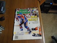 Sports Illustrated 1987 Wayne Gretzky Cover