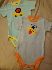 Boys Short Sleeve Bodysuits Size 9 months
