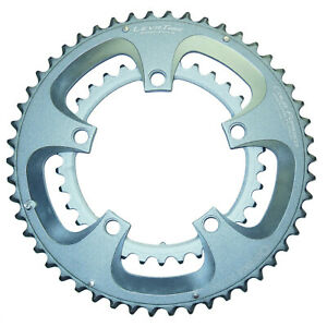 New* Praxis Levatime Cold Forged 50/34 Compact Chainring Set Grey/Silver 110 BCD