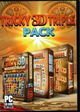 Tricky 3D Triple Pack (PC-CD ,2013) for Windows XP/Vista/7/8 - NEW in DVD BOX