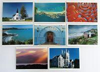 8 x Neuseeland Postkarten Lot New Zealand ua. Wellington, Napier, Dunedin, Maori