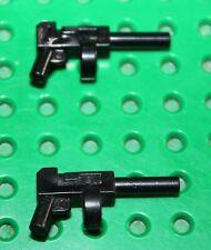 2 x LEGO BATMAN minifig tommy gun 85973/Set 7888 7886 7787 7785 7782 7780 7327