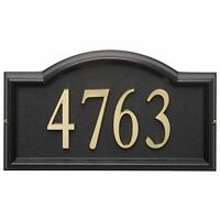 Whitehall Products Design-it 4 Arch Plaque Black