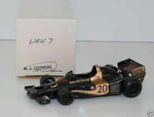 WESTERN MODELS SIGNED 1st VERSION - 1/43 SCALE WRK7 1977 WOLF WR1 #20 SCHECKTER