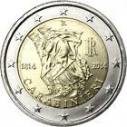 2 EURO COMMEMORATIVA ITALIA ARMA DEI CARABINIERI 2014 RARA DA COLLEZIONE