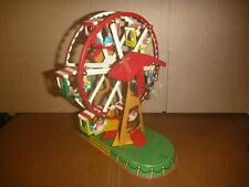 Rare JW ALTES NURNBERGER Tin Litho Ferris Wheel - Made in Germany