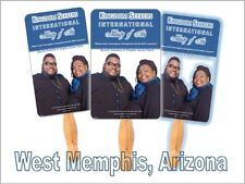 50 Personalized Fans Church  Hand Fans personalized hand fans
