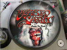 "Morbid Saint - Crying For Death Mega Rare 12"" Picture Disc Promo Maxi Single LP"