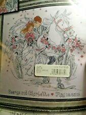 "Wedding Carriage 12"" x 12"" Design Works Cross Stitch Kit  Marriage"