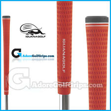 Iguana Golf Classic Velvet Golf Grips - All Colours - Free Post x 9