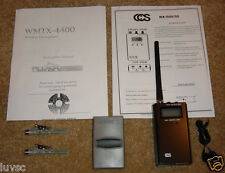 Wireless Bug Radio Transmitters Covert Surveillance Receiver James Bond 007