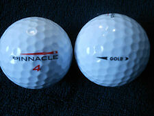 "20 PINNACLE  ""GOLD"" - RED FLASH - 2015/17 MODEL - Golf Balls - ""PEARL/A"" Grades."