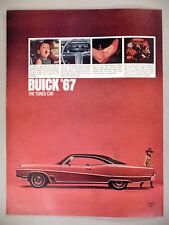 Buick Wildcat PRINT AD - 1966 ~~ 1967 model