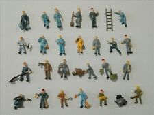 100pcs Model Train 1:87 HO Scale Railway Workers / Working Figures (25+2 styles)
