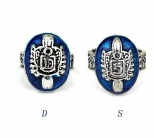 The Vampire Diaries Damon or Stefan Salvatore Ring Blue Cosplay & Gift Bag