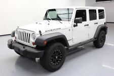 2012 Jeep Wrangler Unlimited Rubicon Sport Utility 4-Door