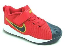 Nike Team Hustle Quick 2 Boys Shoes Trainers Uk Size 10.5 - 2.5   AT5299 602