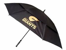 AFL GOLF UMBRELLA - GWS GIANTS - DOUBLE CANOPY - NEW - VALUE PLUS!!
