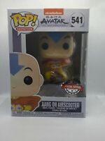 Avatar The Last Airbender Aang on Airscooter #541 Funko Pop MINT IN HAND
