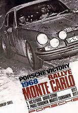 Porsche 911 T / Rallye Monte Carlo 1968 - auf Werbung