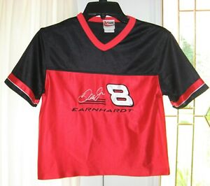 Dale Earnhardt Jr NASCAR #8 Chase Authentic Child's Pull Over Shirt Size 7