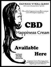 CBD Cream 2 OZ.- 1000mg per ounce created by Heidie The Old Rock 'n' Roll Queen
