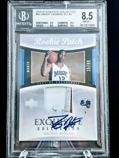**2004-05 UD Exquisite Rookie Patch Auto Dwight Howard's BGS 8.5/10**