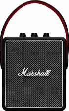 Marshall - Stockwell II Portable Bluetooth Speaker - Black & Brass